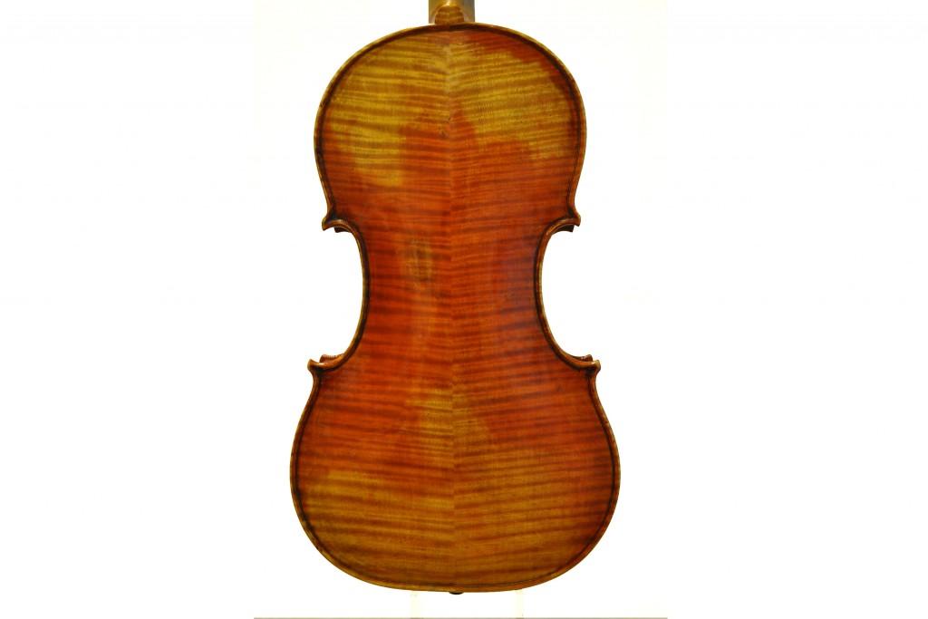 """Violine nach Giuseppe Guarnerius 'del Gesu"""", Il Cannone"""", Cremona (1743) (verkauft)Cannone-Boden"""